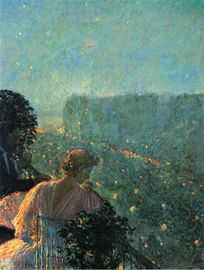 Summer Evening, Paris, 1889